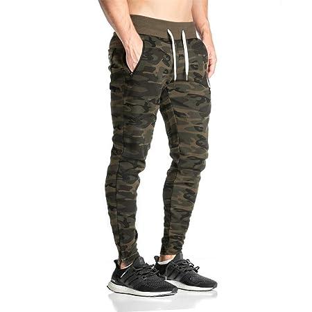 Pantalones de chándal para hombre Pantalones de camuflaje de ...