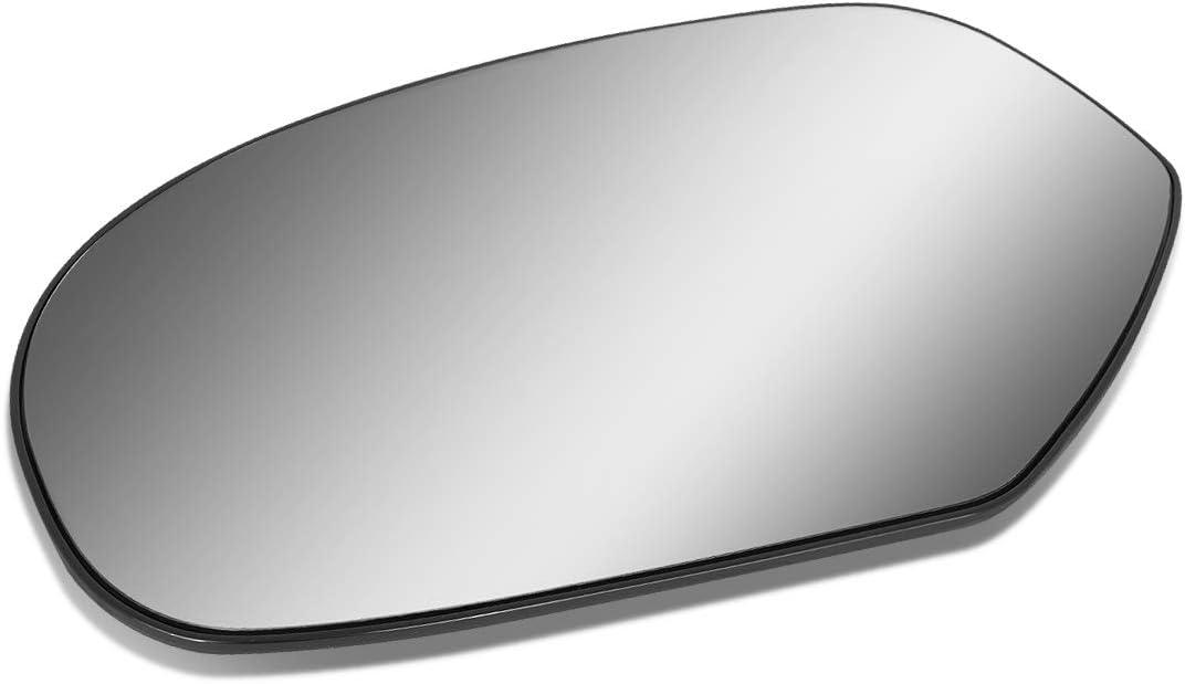 Driver/Left Side Door Rear View Mirror Glass Lens w/Heater for 2007-2014 Chevy Escalade/Silverado/GMC Yukon/Sierra
