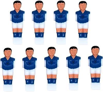 Garneck 9 Piezas de Jugador de Futbolín Plástico Práctico Duradero ...