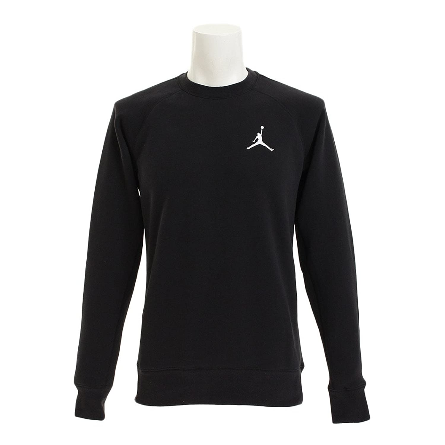 545e5add9c49 Raglan sleeves for natural range of motion. Rib cuffs and hem for snug fit.  Jordan Jumpman ebroidered on Chest
