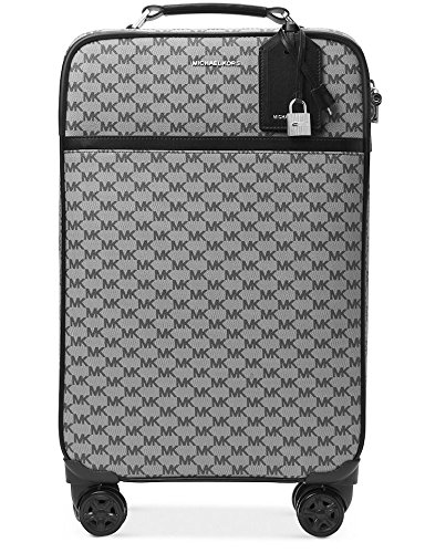 NEW AUTHENTIC MICHAEL KORS TROLLEY TRAVEL SUITCASE LUGGAGE (Black - Authentic Michael Kors