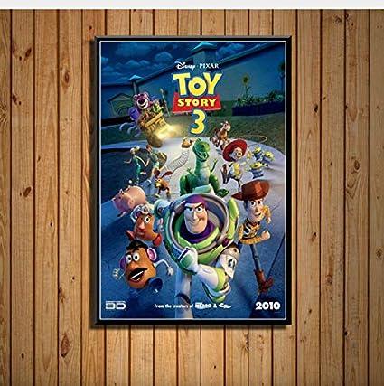 haoxinbaihuo Toy Story Classic Cartoon Series Película Arte ...