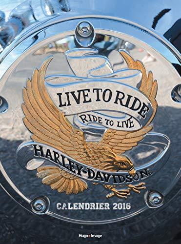 - calendrier mural 2016 ; Harley Davidson