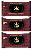 KING Wipes Flushable Wet Wipes Unscented with Aloe Dispenser 3 Deal