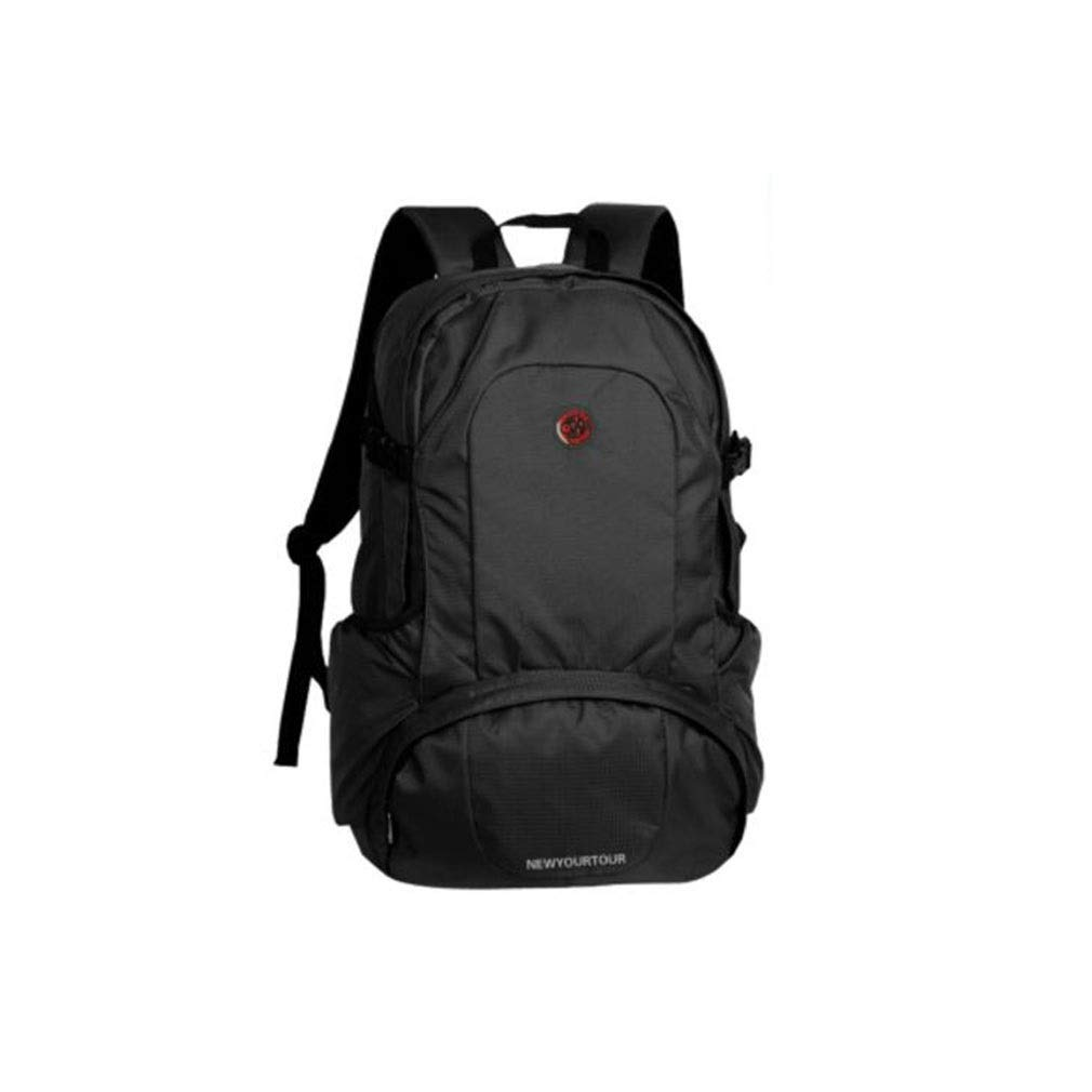 大容量カジュアルバックパック軽量で丈夫な屋外用防水バックパック旅行ハイキングバックパックマルチカラーオプションマルチサイズオプション (色 : 黒, サイズ さいず : L l) L l 黒 B07P5D2YDJ