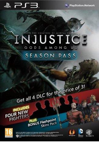 Injustice Gods Among Us: Season Pass - PS3 [Digital Code]