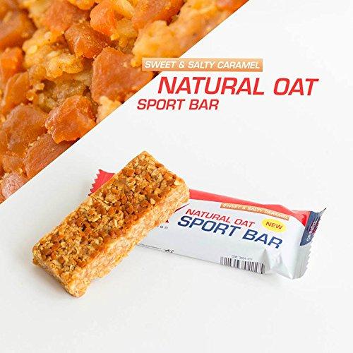 Etixx Natural Oat Sport Bar Sweet & Salty Caramel, Sabor a Caramelo - 12 barritas: Amazon.es: Salud y cuidado personal