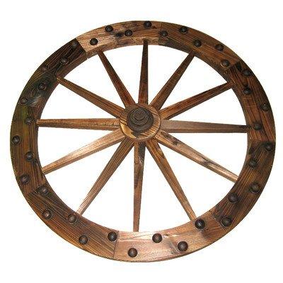 "UPC 085073937590, Leigh Country TX93759 Deluxe Wooden Wagon Wheel, 36"""