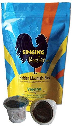 Blue Mountain Chocolate Coffee - Haitian Mountain Blue Coffee, compatible, 10 Kups