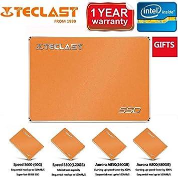 FJHJB Teclast Sata SSD - Disco Duro Interno (120 GB, 128 GB, 240 ...