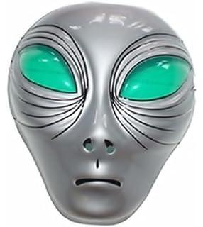Inception Pro Infinite Máscara para Disfraz - Traje - Carnaval - Halloween - Alien - Extraterrestre