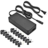 Universal Laptop Charger, CUGLB 90W 15V 16V 18.5V 19.5V 20V AC Power Adapter Selectable Tips for HP Dell IBM Toshiba Lenovo ASUS Sony Acer Samsung Fujitsu Gateway Notebook Ultrabook Supply Cords