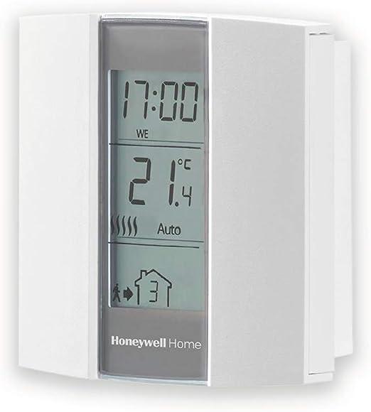 Crema y gris AUBE Honeywell Home TH136 Termostato programable