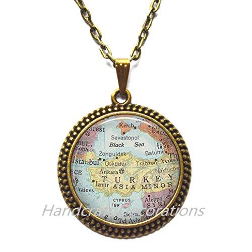 Charming Necklace Dallas map Pendant, Dallas map Necklace, Dallas Pendant, Dallas Necklace, map - Map Arlington Highlands