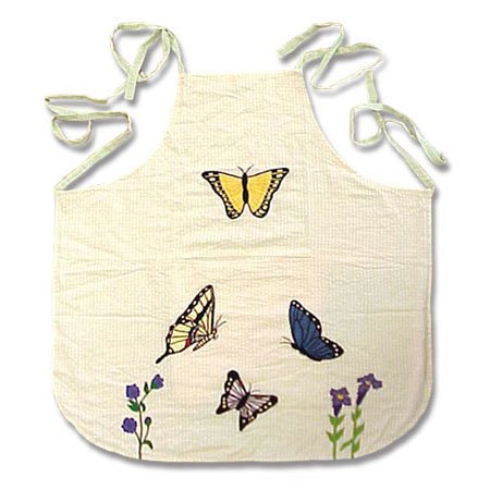 Patch Magic Butterfly Kisses Apron, 27-Inch by ()
