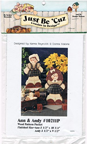 Ann & Andy Wood Pattern Packet ()