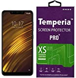 Temperia Tempered Glass Screen Guard Gorilla Protector for Mi Poco F1 with Easy Installation Kit (Full Screen Coverage Except Edges - 11D Original Temper) (Transparent) (Pack of 1)