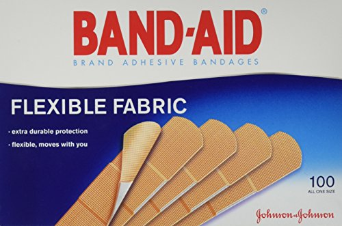 Flexible Fabric Premium Adhesive Bandages, 3/4 x 3, 100/Box (Pack of 2)