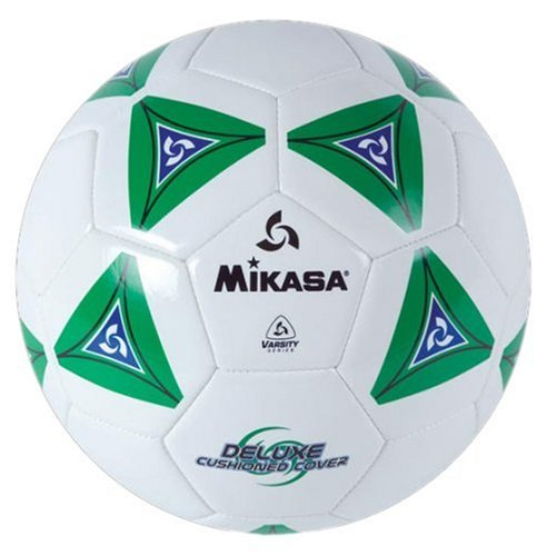 - Mikasa Serious Soccer Ball (Green/White, Size 4)