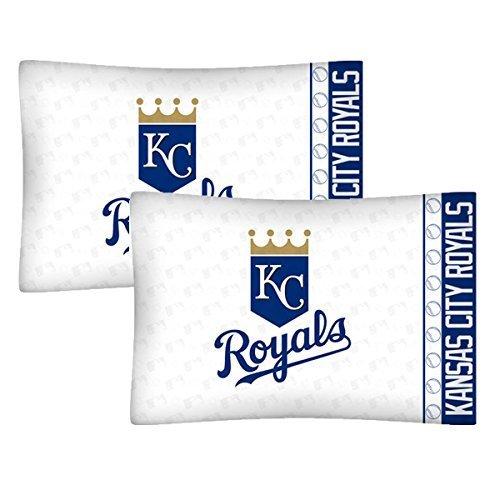 - Set of 2 MLB Kansas City Royals Pillowcases Baseball Team Logo Bedding Pillow Covers by Store51 LLC