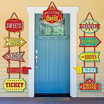 Amazon.com: Cartel con foto y apertura para la puerta Fun ...