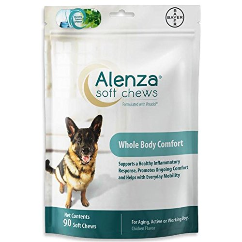 Bayer Alenza Soft Chews Aging Support for Dogs, 90 count by Bayer Animal Health