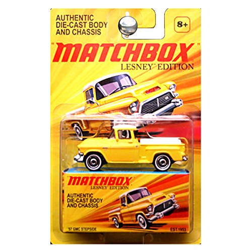 Matchbox 2011 Lesney Edition 1957 GMC Stepside Pickup Truck in Yellow