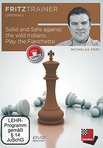 Price comparison product image Solid and Safe Against the Wild Indians - Play the Fianchetto - Nicholas Pert