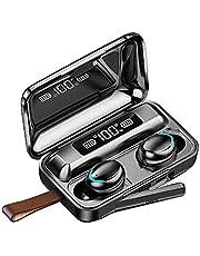 IPOTCH Trådlösa Bluetooth 5.0-hörlurar 9d stereo svettbeständiga hörlurar