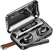 gazechimp Fone De Ouvido Bluetooth 5.0, Baixo, Estéreo, Sem Fio, Fone De Ouvido, Controle, Microfone, Toque (P