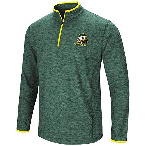 Mens Oregon Ducks Quarter Zip Wind Shirt - XL
