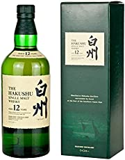 Suntory 12 Ans Single Malt Hakushu Whisky Japonais, 70 cl