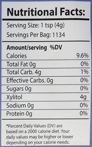 Health Garden Birch Xylitol Sugar Free Sweetener, All Natural, Non GMO (Not from Corn (10 LB) by HEALTH GARDEN (Image #2)
