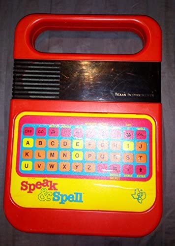 E.T Classic 1978//1980 Design Handheld Toy New SPEAK /& SPELL Electronic Game