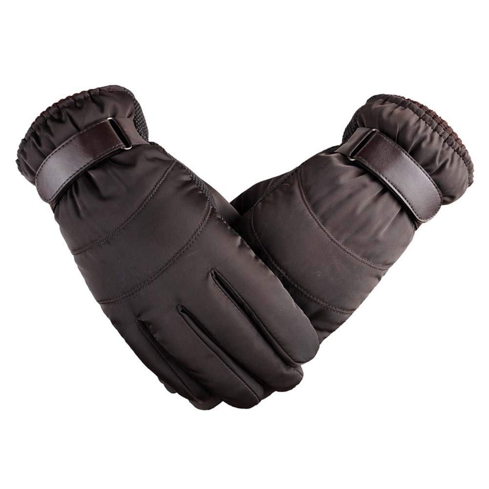 ANJUY Men's Polyester Touchscreen Texting Gloves Warm Windproof Winter Cycling Gloves