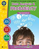 Data Analysis and Probability, Grades 6-8, Tanya Cook, 1553194748