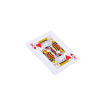 knowledgi Giant Plastic Coated Playing Cards Deck Cartas De ...