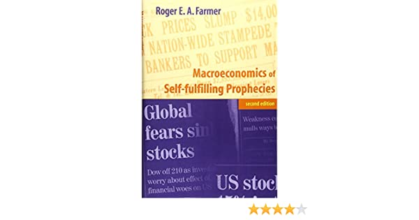 macroeconomics of selffulfilling prophecies 2nd edition