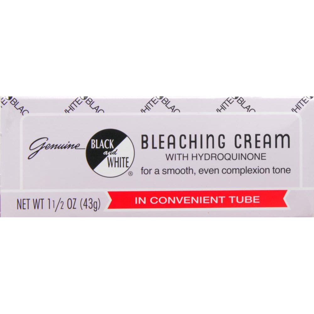 Black And White Bleaching Cream with Hydroquinone 1.5 Oz Atlas Ethnic STRICKLAND124693