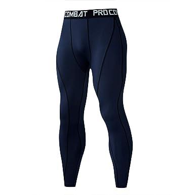 VPASS Pantalones para Hombre, Chándal de Hombres Color sólido Gym ...