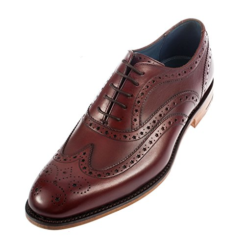 Barker Men's Jensen Full Brogue Leather Brogue Shoe (404236)