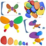 Rainbow Pebbles are an exciting construction and early mathematics manipulative. These multicolored stones are perfect for counting, sorting and creating colorful designs, thereby combining math with art! Kids can grow their fine motor skills as they...