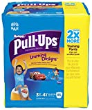 Health & Personal Care : Huggies Pull-Ups Learning Designs Training Pants - Boys - 3T-4T - 46 ct