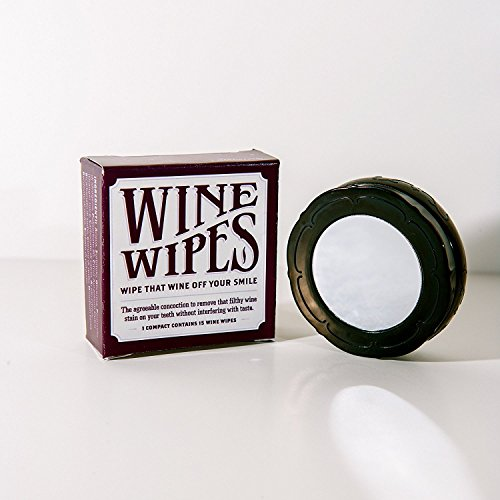 (Wine Wipes - 3 Compacts - 45 Wipes Total Count)