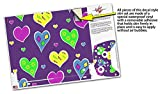 Skin Wrap for XBOX One X Console and Controller Crazy Hearts
