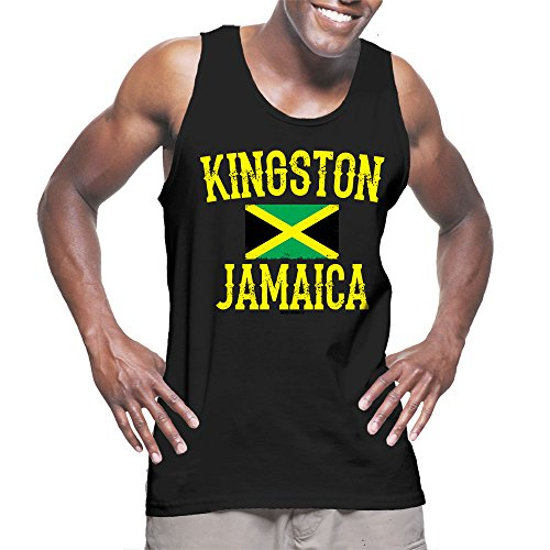 Mens Kingston Jamaica Jamaican T shirt