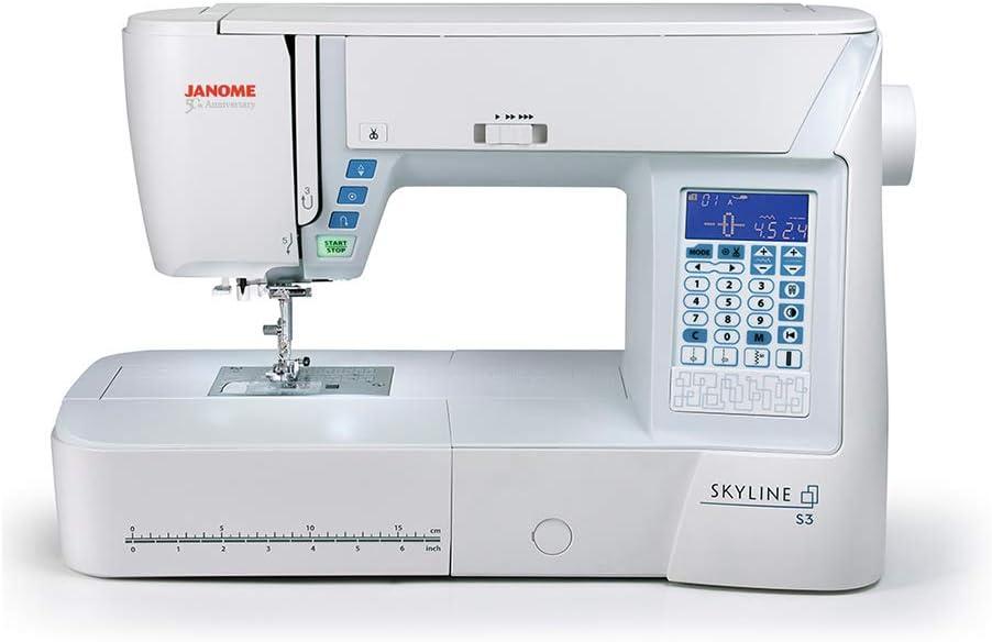 Janome Skyline S3 Computerized Sewing Machine with Exclusive Bonus Bundle