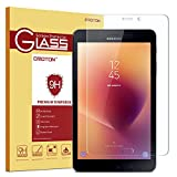 OMOTON Galaxy Tab A 8.0 2017 (4G Model) Screen Protector - [Scratch Resistant] [Bubble Free] [High Definition] Tempered Glass Screen Protector for Samsung Galaxy Tab A 8.0 (4G Model) 2017 new released