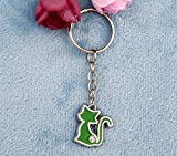 VT BigHome Multicolor Cute Cat Charm Pendant Key Ring Key Chain Trinket Jewelry