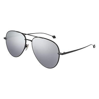 2a12405c10 Sunglasses Brioni BR 0025 S- 003 RUTHENIUM   SILVER at Amazon Men s ...
